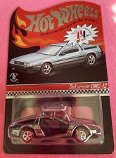 Hot Wheels Redline Club DeLorean DMC-12. CHROME And Only 4000 Made!!