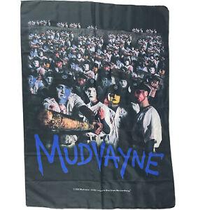 Mudvayne 2002 Wall Hanging Band Banner 42 X 30 Inch