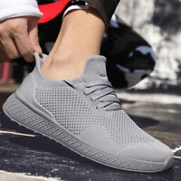Men's Sneakers Outdoor Breathable Running Athletic Casual Tennis Sport Shoes