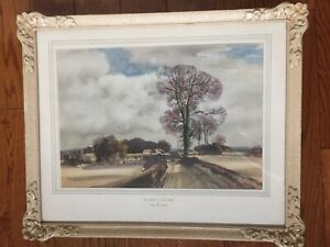 ROWLAND HILDER 'THE ROAD TO THE FARM' Watercolour-Quality Print