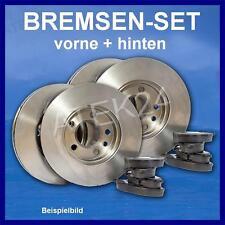 BREMSE SET VW GOLF 4 IV vorne VA (Ø288) + hinten HA Scheiben Beläge Klötze Satz
