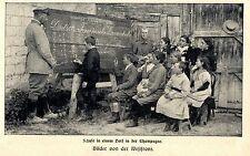 1916 * Deutsch-Französische Kriegsschule in St.Pierre in der Champagne * WW1