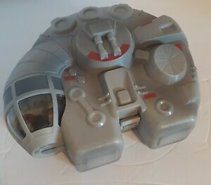 Mighty Beanz 2010 Star Wars Lot Of 7 Beans In Millennium Falcon Box.