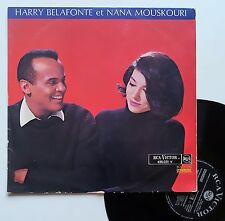 """LP Harry Belafonte et Nana Mouskouri  """"Chants de la Grèce"""""""