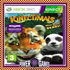 Kinectimals Now with Bears - Kinect Compatible (Microsoft Xbox 360) Brand New