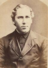 REV. JOHN B. SMITH, HOLLY CROSS CATHEDRAL, BOSTON, C.1880'S, CDV PHOTO