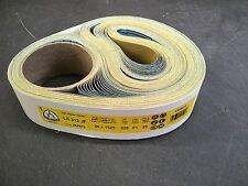 """Klingspor LS312JF Abrasive Belts 50x1525mm (2""""x60"""") Grit 320 (Pack of 25)"""