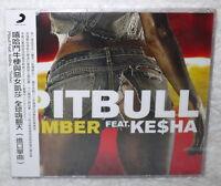 Ptibull Feat. Kesha (Ke$ha) Timber Taiwan CD w/OBI