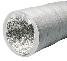 Combi-Flexrohr Alu / PVC 400mm 10m Flexrohr Lüftungsrohr Abluft für Filter & AKF
