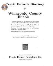 Winnebago Co IL  Illinois genealogy history Rockford directory