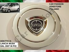 1 COPPETTA COPRIMOZZO LANCIA MUSA 11-12 FREGIO ORIGINALE HUB CAP NABENDECKEL