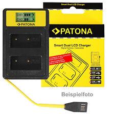 Kamera-Akku Dual LCD Ladegerät für Nikon, Canon, Fuji, Olympus, Panasonic, Sony