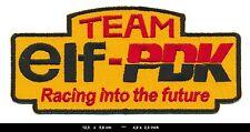 ELF PDK Aufnäher Aufbügler Patch Auto Racing Team Frankreich France TURBOVERSAND