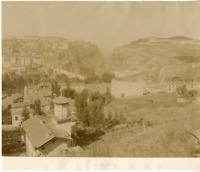 Algérie, Constantine Vintage albumen print.  Tirage albuminé  21x27  Circa