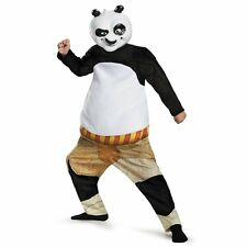 Child Costume Pretend Play Kung Fu Panda-Po Deluxe Muscle