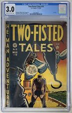 Two-Fisted Tales #18 11-12/50 CGC 3.0 2083288001 - 1st Issue of the E.C. series!