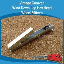 Caravan WIND DOWN LEG HEX HEAD WHEEL 600MM Vintage Viscount Camper Trailer