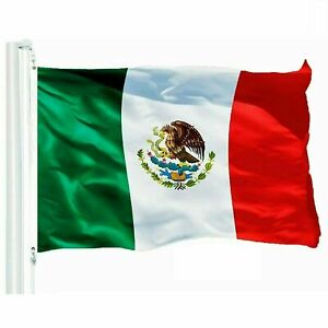 3x5FT MEXICO FLAG LARGE MEXICAN LATIN LATINO