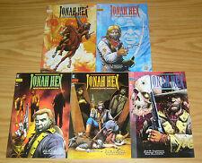 Jonah Hex: Two-Gun Mojo #1-5 VF/NM complete series JOE R. LANSDALE tim truman