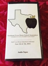 Home Education Conference Audio Seminar Set 6 Cassettes Homeschooling Texas VGC