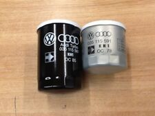 035115561/591.GENUINE AUDI OIL FILTER SET FOR UR QUATTRO ,5 CYL AUDI 2.2,2.3