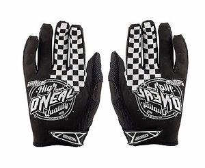 O'Neal Jump AFTERBURNER Full Finger Motocross /Cycling Gloves Size S/8 Black