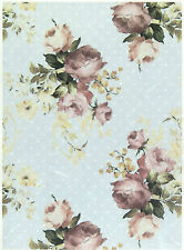 Rice Paper for Decoupage Scrapbooking Sheets Craft Shabby Chic Roses L