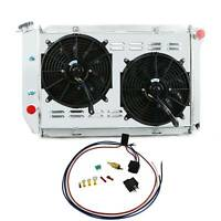 3Row Radiator Shroud Fan For Ford Mustang / Lincoln / Mercury Cougar L6 V8 70-73
