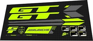 2019 GT AVALANCHE 9'R DECAL SET