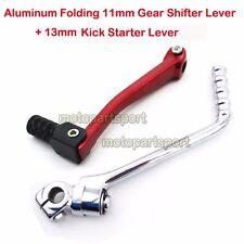 Kick Starter Folding Gear Shift Lever For CRF50 SSR TTR Lifan YX Pit Dirt Bike