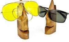 Brillenhalter aus Kirschholz , Holzbrillenständer , Deko - Brillenhalter