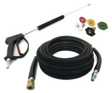 Deluxe SPRAY GUN, WAND, 50' HOSE & TIPS for Power Pressure Washers - 4000 PSI
