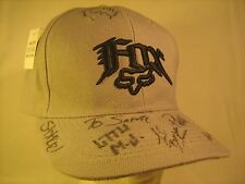*SIGNED* Men's Cap FOX RACING Autographed Size 7 1/4 [M3b]