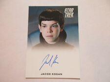 2017 Star Trek Beyond Trading Cards Lorenzo Henrie / Vulcan Bully Autograph (FB)