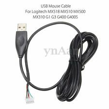 USB Mouse Mice Cable Line For Logitech MX518 MX510 MX500 MX310 G1 G3 G400 G400S