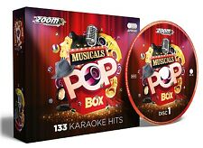 Zoom Karaoke Musicals Pop Box - 133 Show Tunes and Broadway Favourites - 6 CD+G