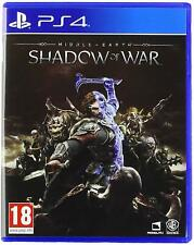 Middle-Earth Shadow of War Sony PS4 Jeu tout neuf scellé LOTR Lord of the Rings