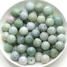 20pcs 100% Natural Grade A Colorful Jadiete Jade New Arrive Flower Loose Beads