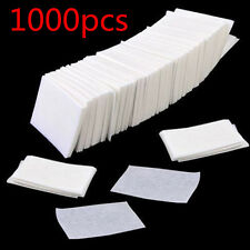 1000Pcs Lint Free Nail Wipes Cotton Pads Acrylic Nail Art Tips Polish Remover CN