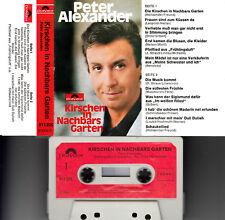 PETER ALEXANDER - Kirschen in Nachbars Garten > MC Musikkassette, polydor 1962