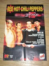 "POSTER DE ""RED HOT CHILI PEPPERS""& ""SUM 41""/ PARU DANS ROCK MAG / 78 x 55 CMS"