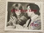 Jane Fonda & Tom Hayden Original Autographed With Felt Pen Photograph