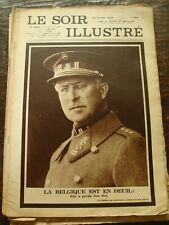 Le Soir Illustré - La Belgique est en deuil - Le Roi Albert - 24/2/1934