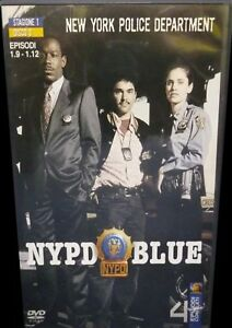 NYPD BLUE - STAG.1 EP 1.9-1.12 - DVD - SIGILLATO