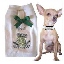Tg. XS Chihuahua Hundemode Hundemante Pettorina morbida pettorina FROGGY A93