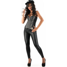 Picaresque - disfraz Police inspector Vicki negro