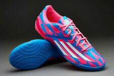 Adidas Mens RARE F10 M18308 Pink Blue White Indoor Soccer Shoes Football Size 7