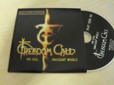 Freedom Call - Mr. Evil / Innocent world / RAREST Edition CD
