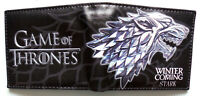 Game of Thrones wallet purse id window card slots zipped coin pocket