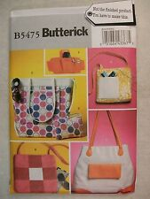 Totes Bags Wrist Wallet Sewing Pattern B5475 See Full Listing Info